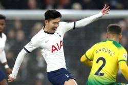 Tottenham 2 1 Norwich City Son Heung Min Rescue Win