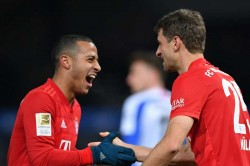 Hertha Berlin 0 4 Bayern Munich Second Half Show Sends Flicks Men Up To Second