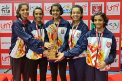 Utt 65th National School Games Table Tennis Championships Havish Asrani Pritha Vartikar Clinch Title