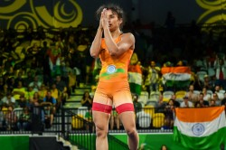 Wrestling Vinesh Phogat Wins Gold At Rome Ranking Series Event