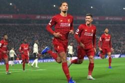 Premier League Wrap Van Dijk And Salah Send Leaders 16 Points Clear Burnley Beat Leicester