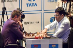 Tata Steel Masters Anand Draws With Dubov Carlsen Back In Reckoning