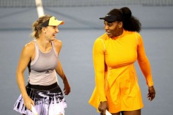 Serena Williams Carolina Wozniacki Doubles Final Singles Semis Wta Wrap