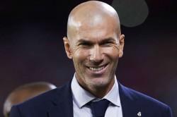 Zinedine Zidane France When Didier Deschamps Leaves Fff President Noel Le Graet
