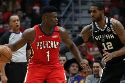 Nba Zion Williamson Debut Houston Rockets Denver Nuggets