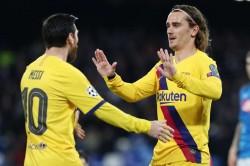 Napoli Barcelona Match Report Champions League Antoine Griezmann