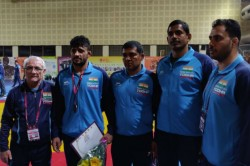 Asian Wrestling Championships Ashu Aditya Hardeep Win Broze India Wrestlers Bag 5 Medals