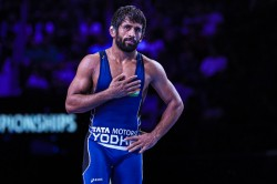 Asian Wrestling Championship Punia Vinesh Head Indian Challenge