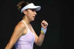 Belinda Bencic Starts Battling Win Johanna Konta Out St Petersburg