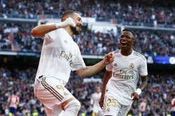 Madrid Derby Benzema Nets Real Winner Pressure On Simeone