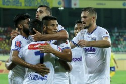 Isl 2019 20 Chennaiyin Hit Blasters For A Six In Goal Rush