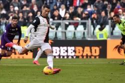 Juventus Beat Fiorentina Cristiano Ronaldo Penalties Matthijs De Ligt Serie A