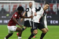 Milan 1 1 Juventus Cristiano Ronaldo Late Penalty Coppa Italia Semi Final