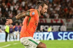 Dani Osvaldo Banfield Football Return