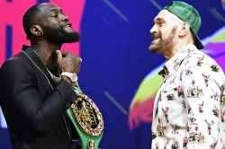 Tyson Fury Deontay Wilder Target Eye Heavyweight Rematch