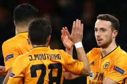 Wolves Espanyol Europa League Report Diogo Jota Hat Trick Ruben Neves Volley