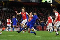 Arsenal Olympiacos Europa League Report Pierre Emerick Aubameyang