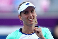 Elise Mertens Wta Qatar Open Garbine Muguruza Jelena Ostapenko Through