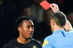 Monaco Gelson Martins Ligue 1 Referee Push