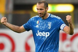 Giorgio Chiellini Juventus Champions League Squad