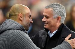 Manchester City Boss Pep Guardiola Jose Mourinho Time Tottenham
