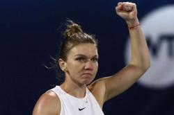 Simona Halep Comeback Win Wta Dubai Tennis Championships