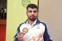 Khelo India Honey Pal Wins 63kg Gold Gives Credit To The Man Behind The Greco Roman Revolution India