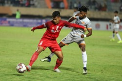 Hero I League Aizawl Snatch A Crucial Point In Coimbatore