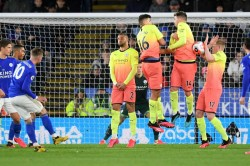 Brendan Rodgers Leicester City Denied Penalty Manchester City