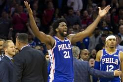 Joel Embiid Philadelphia 76ers Nba