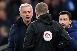 Tottenham Manchester City Jose Mourinho Wanted Raheem Sterling Clear Red Card