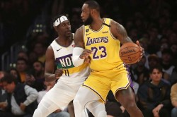 Lebron James Los Angeles Lakers Sixth Straight Milwaukee Bucks 50 Wins