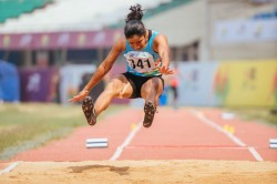 Khelo India Scholar Steals Athletics Day 1 Limelight In Long Jump Pit
