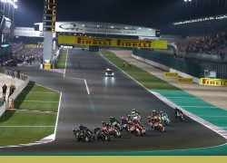 The Qatar Motogp Test Lights Up Losail