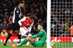 Premier League Arsenal 4 0 Newcastle United Arteta Celebrates Second League Win As Lacazette Ends