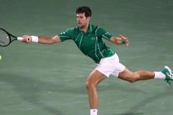 Novak Djokovic Breezes Past Karen Khachanov Dubaitennis Championship