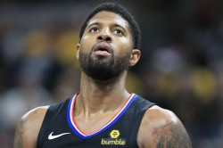 Los Angeles Clippers Paul George Fined Nba