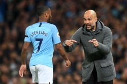 Pep Guardiola Says Clubs Tremble Real Madrid Barcelona Amid Raheem Sterling Speculation