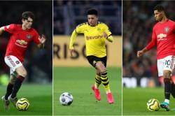 Jadon Sancho Manchester United Borussia Dortmund Data