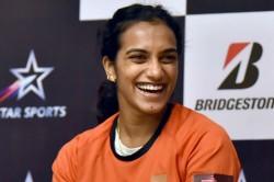 Sindhu Wins Third Successive Espn Female Sportsperson Of The Year Award