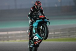Quartararo Quickest On Day 2 In Qatar Test