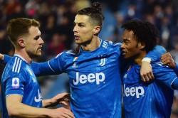 Cristiano Ronaldo Landmark Appearance Juventus Spal Serie A