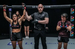 Ritu Phogat Continues To Be Unbeaten As She Dominates Her Second Bout At One Championship
