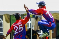 Sandeep Lamichhane Grabs Six As Nepal Restrict Usa To Joint Lowest Odi Total