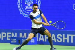 Tata Open Maharashtra Nagal Goes Down Fighting To Viktor Troicki In Opening Round