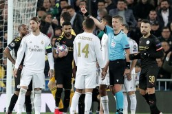 Sergio Ramos Equals Champions League Record Red Card