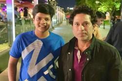 India Woman Cricketer Shafali Verma Finally Fulfils Her Childhood Dream Meets Sachin Tendulkar