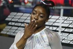 Simone Biles Wows Fans With Video Of Daring Vault Ahead Of Olympics