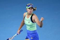 Sofia Kenin Wins Australian Open Garbine Muguruza