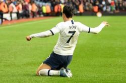 Premier League Aston Villa 2 3 Tottenham Son Pounces On Engels Error To Settle Thriller